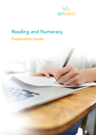 VETASSESS Reading and Numeracy Resources image